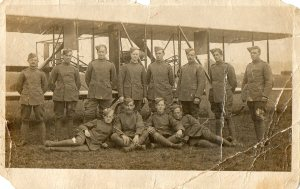 Grandad Bassett front row 2nd from left 1917